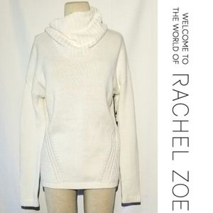 🆕️ Rachel Zoe White shawl neck dolman sweater